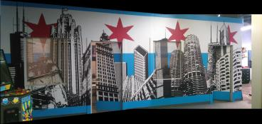 Check out Our Main Wall at SpeedPro Chicago!