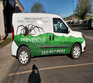 Project of the week:Preventive Pest Control Full Wrap