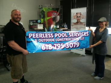 Peerless Pools tailgate #magnet
