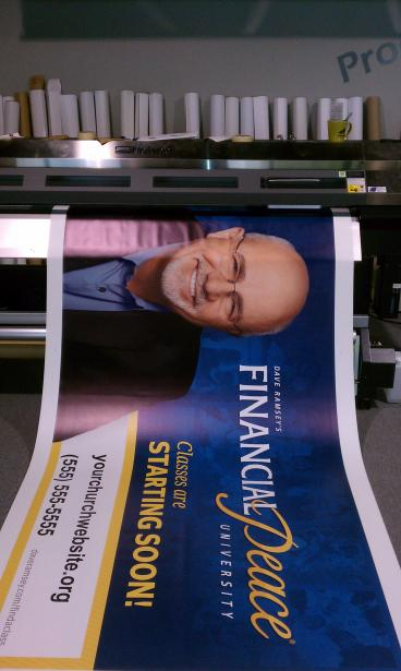 Vinyl Banners Nashville - Franklin   Dave Ramsey Financial Peace