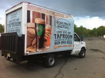 CMBC Box Truck Wrap