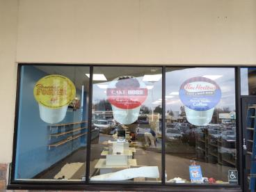 One Cup Joe Window Graphics