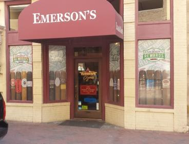 Emerson's Cigars Window Perf