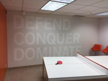 Digital Air Strike - Contour Cut Wall Graphics Tempe Chandler Arizona