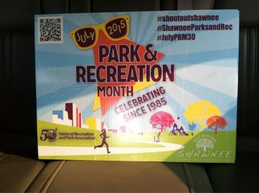 Shawnee Parks and Rec Month