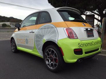 Branded Car Wraps