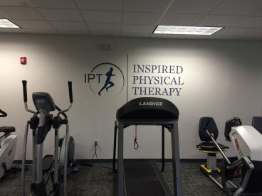 Vinyl wall graphic and lettering for IPT in Mechanicsburg office