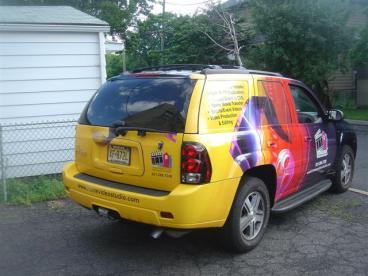 SUV wrap