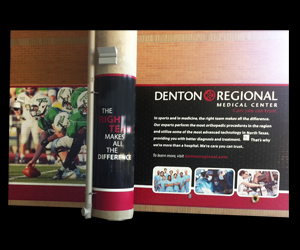 Environmental Graphics: Wall Graphics completed in Dallas, Houston, San Antonio and Austin