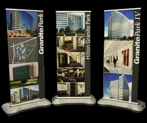 Banner Stands completed in Dallas, Houston, San Antonio, Austin, Arlington, Frisco, Plano
