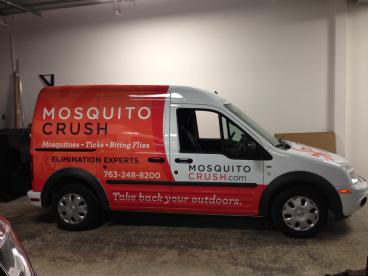 Ford Transit Vehicle Wrap