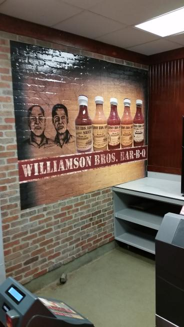 Williams Brother BBQ Wall