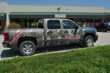 Mossy Oaks Properties Vehicle Wrap