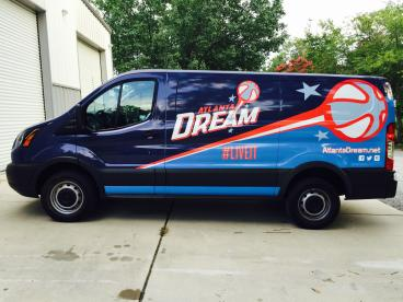 WNBA/Atlanta Dream Vehicle Wrap