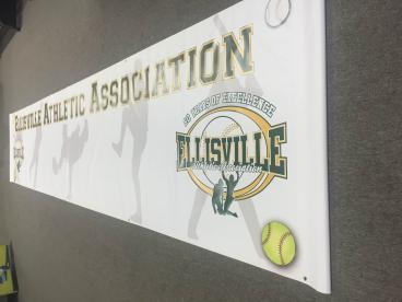 Banner for the Ellisville Athletic Association!