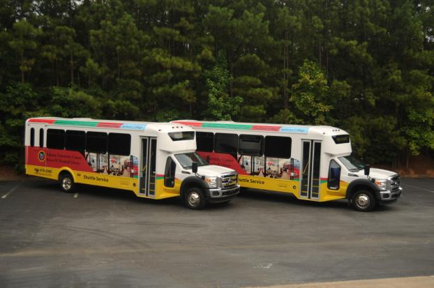 Woodruff Library job, 5 Buses