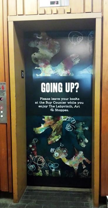 Library Elevator Door