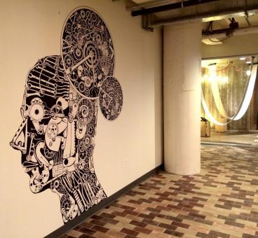 Cut Decal Wall Mural - Client: Fieldglass