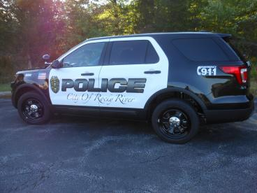 Rocky River PD wrap printed and installed by SpeedPro Cleveland West!
