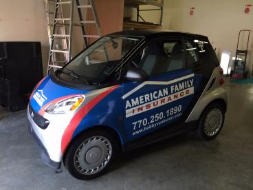 Smart Wrap for a Smart Car