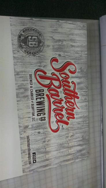 PVC Sign done for Southern Barrel in Hilton Head, SC