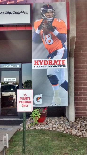 Peyton Manning Banner