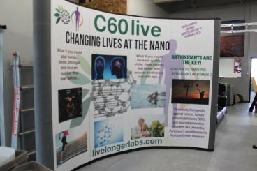 Trade Show Booth Graphic Panels for C60 live in Denver, CO