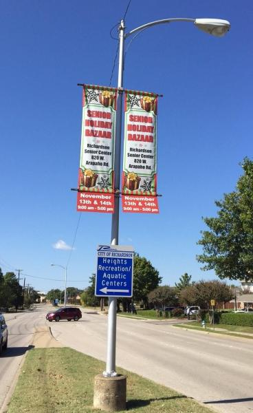 More Street banners