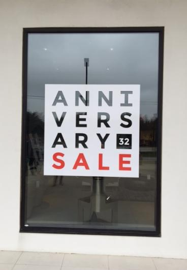 Retail Store Window Graphic