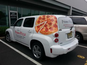 Vehicle Wrap - Primo Pizza