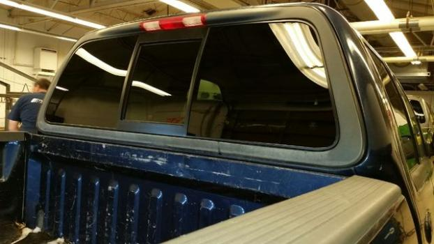 Newly Replaced Back Window