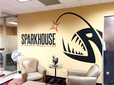 Sparkhouse Wall Decal