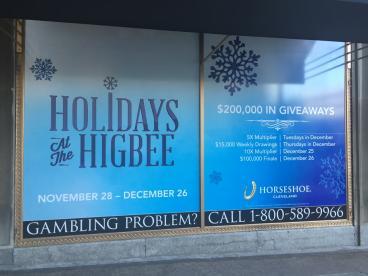 Window Graphics - Cleveland Horseshoe Casino