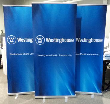 Retractable Banner Stands for Westinghouse