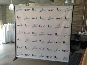 Step and Repeat Banner and Frame