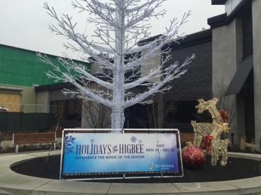 Mounted Banner - displayed at Crocker Park, Westlake, OH