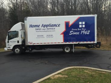 Box Truck Vehicle Wrap - Home Appliance Sales & Service