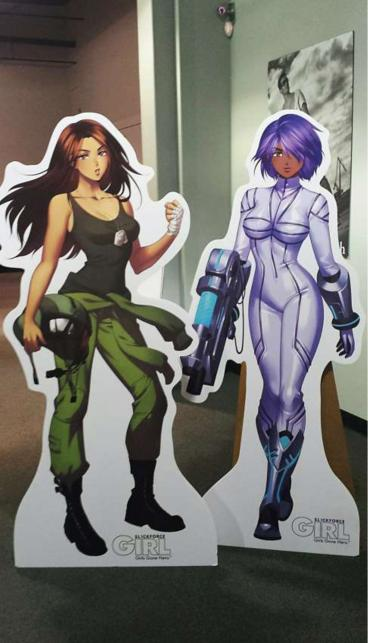 Lie Size Standees