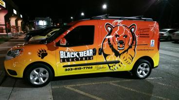 Vehicle Wrap: Black Bear Electric
