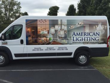 American Lighting Partial Wrap