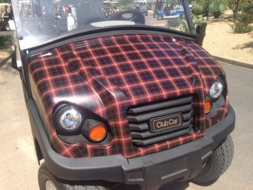 Golf Cart Wrap