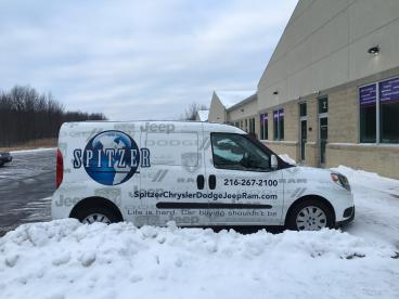 Spitzer Auto Dealership - Vehicle Wrap