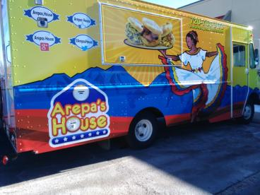 Arepa's House: Full Wrap,Design, Print