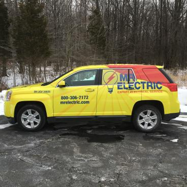 Mr. Electric Vehicle Wrap