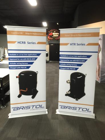 Bristol Compressor Retractable Banners