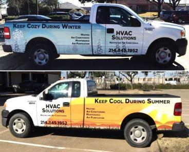 HVAC Truck