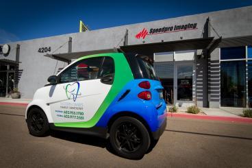 Smart Car Full Vehicle Wrap