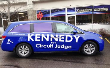 Full Vehicle Wrap for Ryan Kennedy