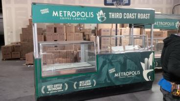 Full Cart Wrap for TrueBrew + Metropolis