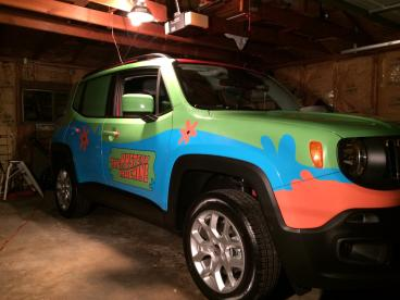 Custom Designed Full Vehicle Wrap
